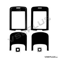 Стекло Nokia 8600 luna, черный