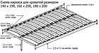 Кровать Замира-12 (Zamira-12) Onder Metal 180×200 см, фото 10
