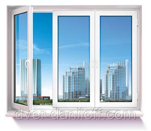 Металлопластиковые окна OpenTeck DELUX. Белая Церковь, фото 2