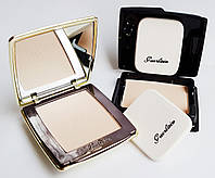 Компактная пудра Guerlain Parure Compact Foundation with Crystal Pearls (Герлен) с заменяемым блоком, 9+9 гр.