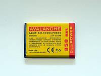АКБ Avalanche для Samsung E1200,X200,E1195,E1080,C140  - 850 мАч