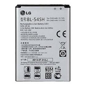 Аккумулятор BL-54SH для LG D870 Optimus F7 (ёмкость 2460mAh)