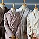 Махровый халат с бамбуком PHUKET от Casual Avenue, Ivory L, фото 4