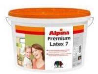 Краска Alpina Premiumlatex 7 10 л Капарол