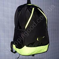 Рюкзак 114048 черный спортивный школьный одно отделение размер 28 см х 45 см х 20 см объем 25 л