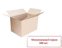 Четырехклапанная коробка из гофрокартона 300*300*270 мм