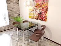 Стеклянный стол Сакура