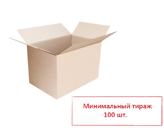 Коробка четырехклапанная 350*250*100 мм