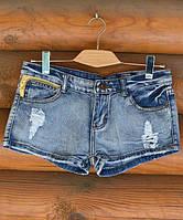 Шорты джинсовые. Yellow.