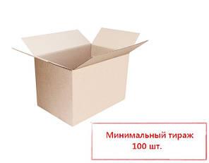 Четырехклапанная коробка из гофрокартона 200*90*90 мм