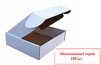 Самосборная коробка из гофрокартона 108*83*43 мм