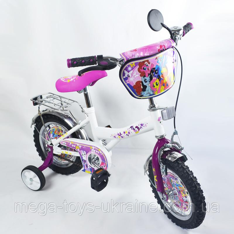 Велосипед My little pony 12 дюймов - Mega Toys Ukraine Интернет магазин  игрушек и товаров для 9203321f12a