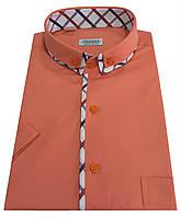 Мужская рубашка классическая с коротким рукавом №10-17 506/16-1532, фото 1