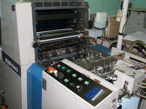 Ryobi 520 - 1-красочная офсетная печатная машина В3 формата s.№2236