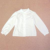 Новая блузка с розовой вышивкой на 10-12 лет, р. 148-152