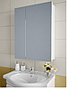 Шкаф зеркальный Garnitur.plus в ванную без подсветки 55NS-Z
