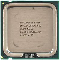 Процессор Intel Core2 Duo E7300 2.66GHz/3M/1066 s775, tray