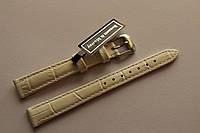 Кожаный ремень Bennett&Murray-ремень из натуральной кожи белый под крокодил 12 мм