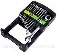 Набор ключей комбинированных с трещеткой Alloid 11 единиц НК-2081-11