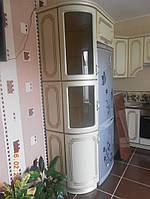 Кухня Фасады МДФ с патиной и радиусным окончанием