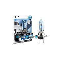 Галогенновая лампа H7 Philips White Vision 12972WHVB1