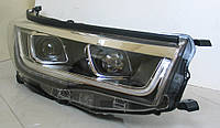 Toyota Highlander XU50 2014 оптика передняя тюнинг ДХО/ headlights DRL LED PW