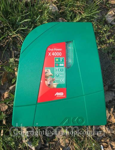 Генератор электропастуха AKO Duo Power X4000