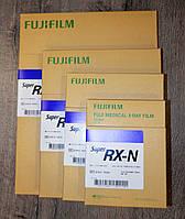 Рентген пленка «Fujifilm» 18см x 43см (Фуджі) Синьочутлива 100 аркушів (листів), Японія