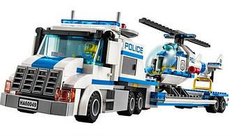 Конструктор Bela 10422 Urban Погоня за преступниками. Вертолет и транспортер (аналог Lego city 60049