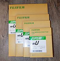 Рентген пленка «Fujifilm» 24см х 30см (Фуджі) Зеленочутлива 100 аркушів (листів), Японія