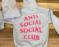ASSC Худи Anti Social Social Club  2AM \ Оригинал бирка