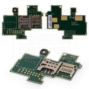 Коннектор SIM-карты и карты памяти для Sony C1904 Xperia M, C1905, на шлейфе