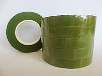 Флористическая лента (тейп-лента), ОЛИВКОВЫЙ, 12 мм