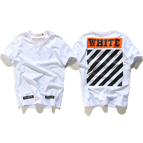 Футболка VLONE OFF WHITE ASSC PALACE Skateboards T Shirt