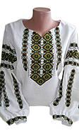 """Жіноча вишита блузка """"Іріса"""" (Женская вышитая блузка """"Ириса"""") BV-0003"""