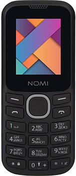 Мобильный телефон Nomi i184 Black Grey