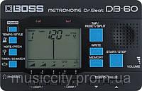 Boss DB60 цифровой метроном