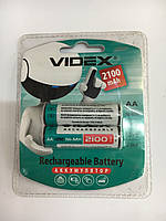 Аккумулятор Videx AA 2100mA R6 пальчиковый