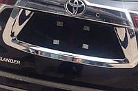 Toyota Highlander XU50 2014 накладка хром на заднюю дверь центральная