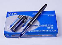 Ручка AH-2005 роллер синяя, толщина 0,5мм AIHAO уп12