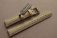 Кожаный ремень Bennett&Murray-ремень из натуральной кожи белый под крокодил 17 мм