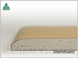 Звукоизоляционные плиты Кнауф Silentboard Салент борд 12,5х625х2500 мм