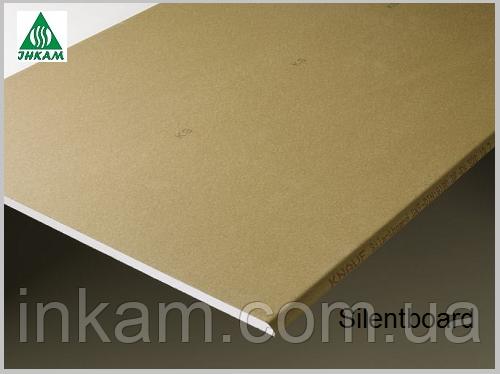 Звукоизоляционные панели Silentboard 12,5х625х2000 мм