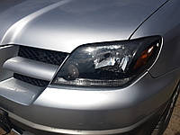 Фара левая Mitsubishi Outlander 2003, MN150491, MN159574, MR991921