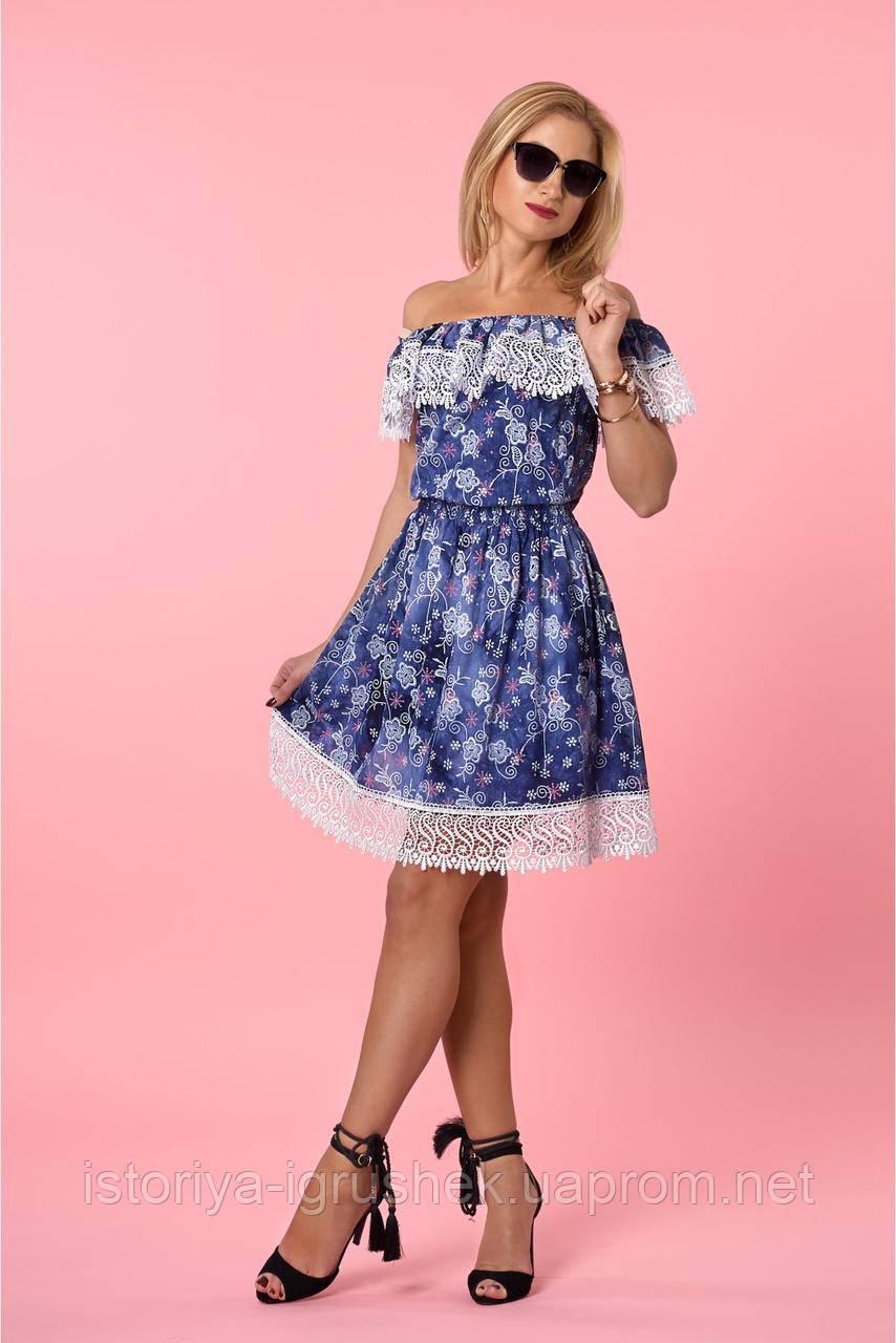 Женское летнее нарядное платье в ассортименте