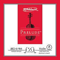 D'Addario J812 4/4M Prelude вторая струна для скрипки (A)