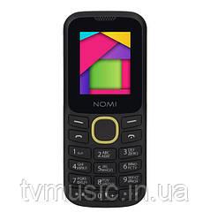 Мобильный телефон Nomi i184 Black Yellow