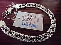 Браслет из серебра 925*.Ручное плетение арабский бисмарк