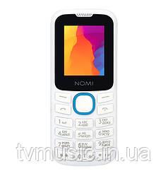 Мобильный телефон Nomi i184 White Blue