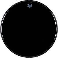 """Remo Ambassador ES001000 Ebony чёрный двухслойный пластик 10"""""""